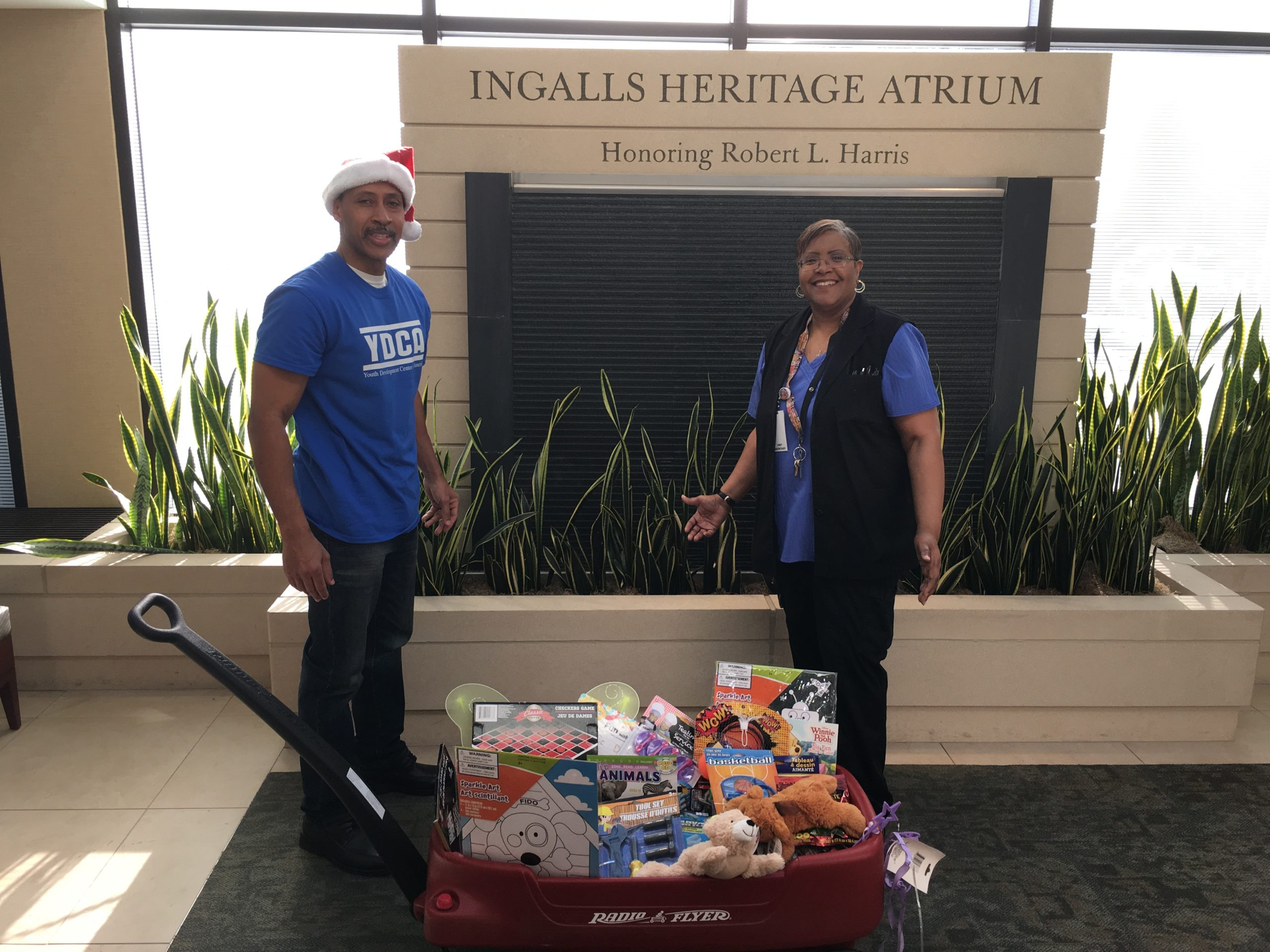 2017 Holiday Giving – Ingalls Hospital 2018