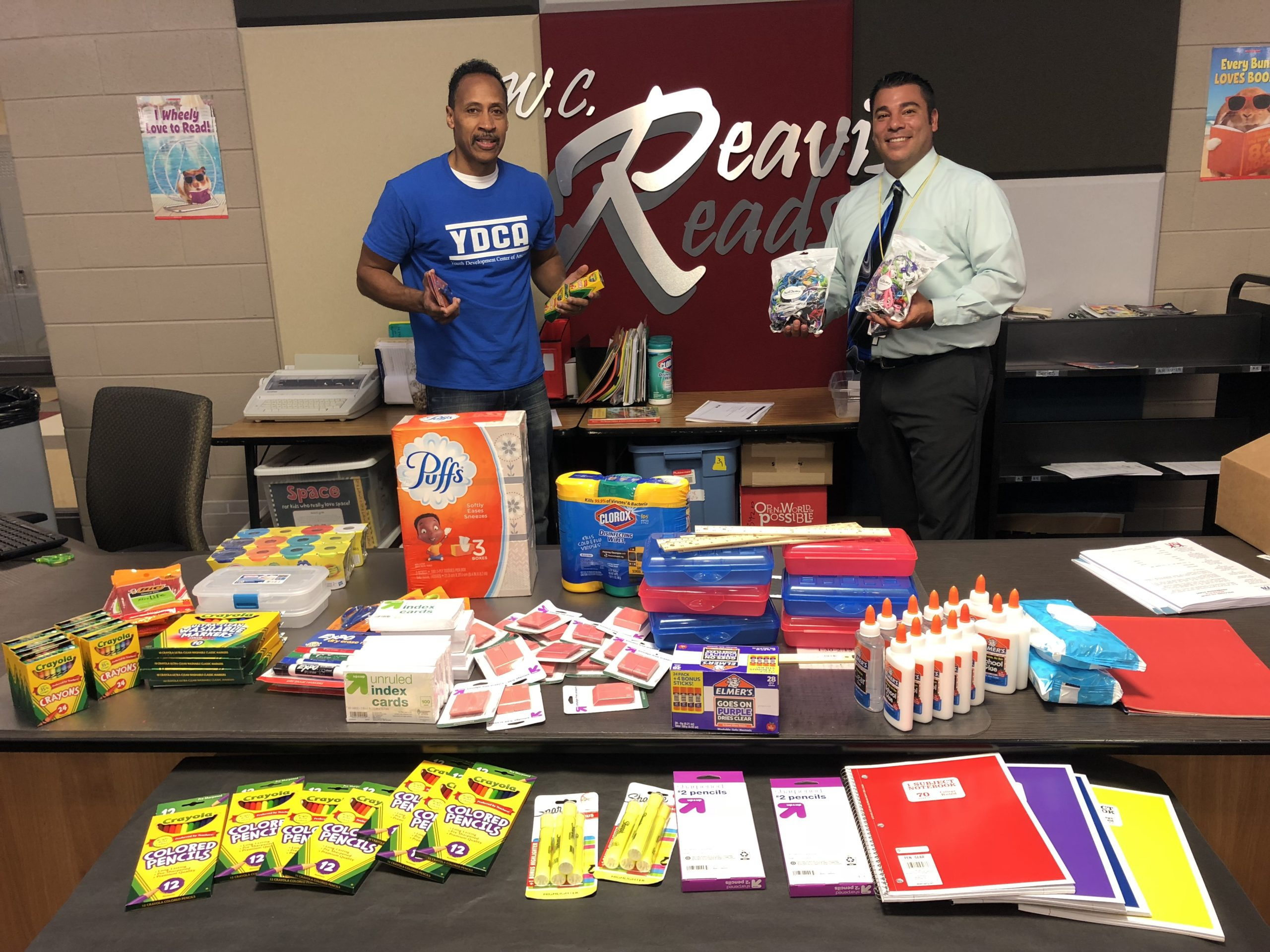 2018 Giving School Supplies Event – Lansing, IL