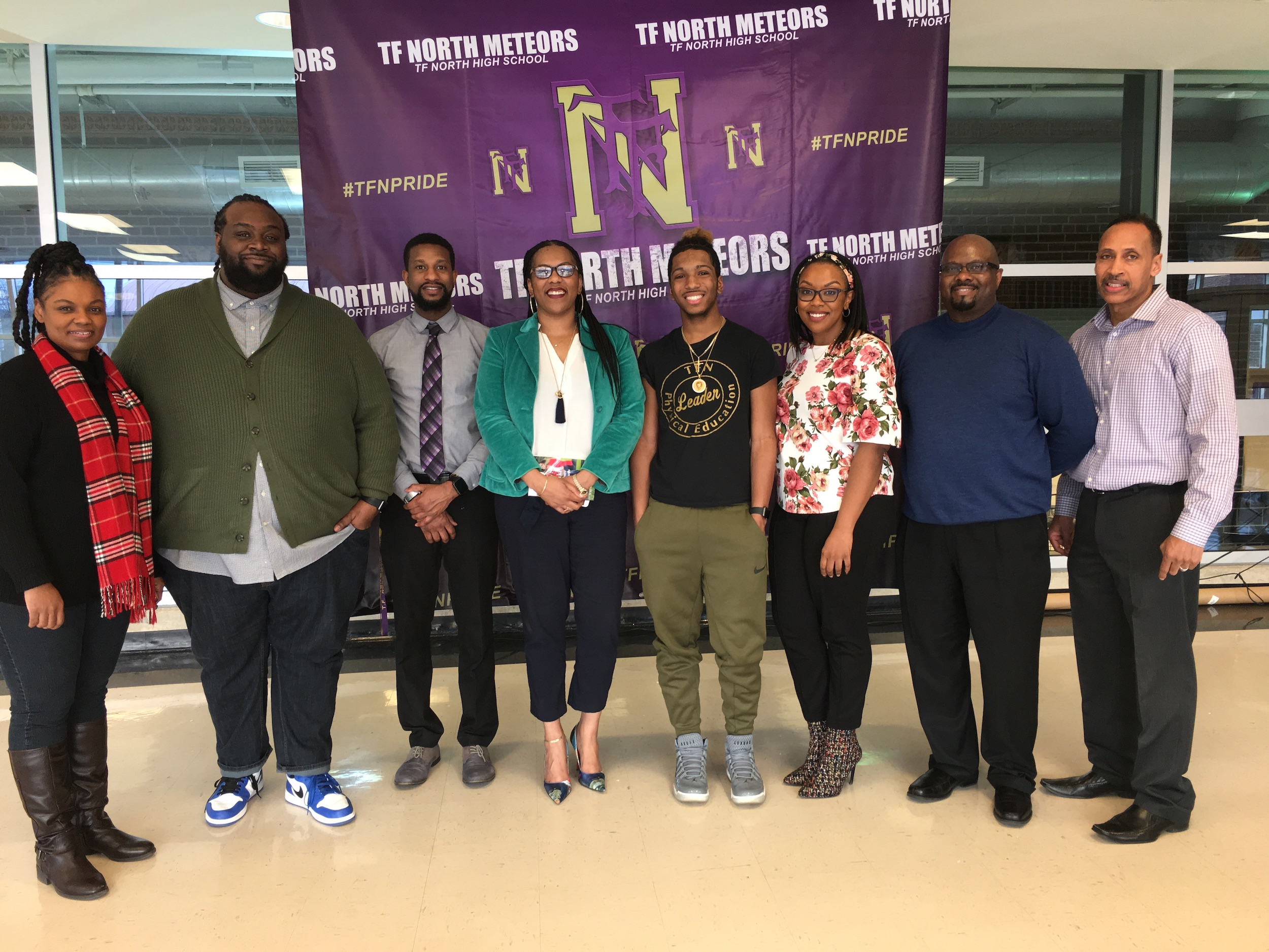 TF North High School Panel 2019